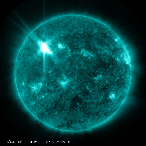 solar flare 2012 effects - photo #42