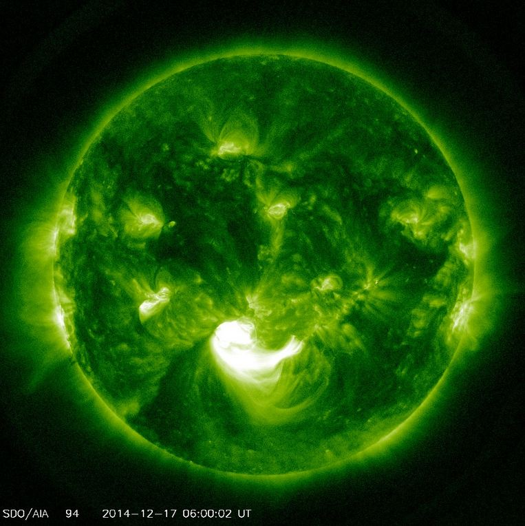 Image of the Sun from SDO. Image SDO/NASA