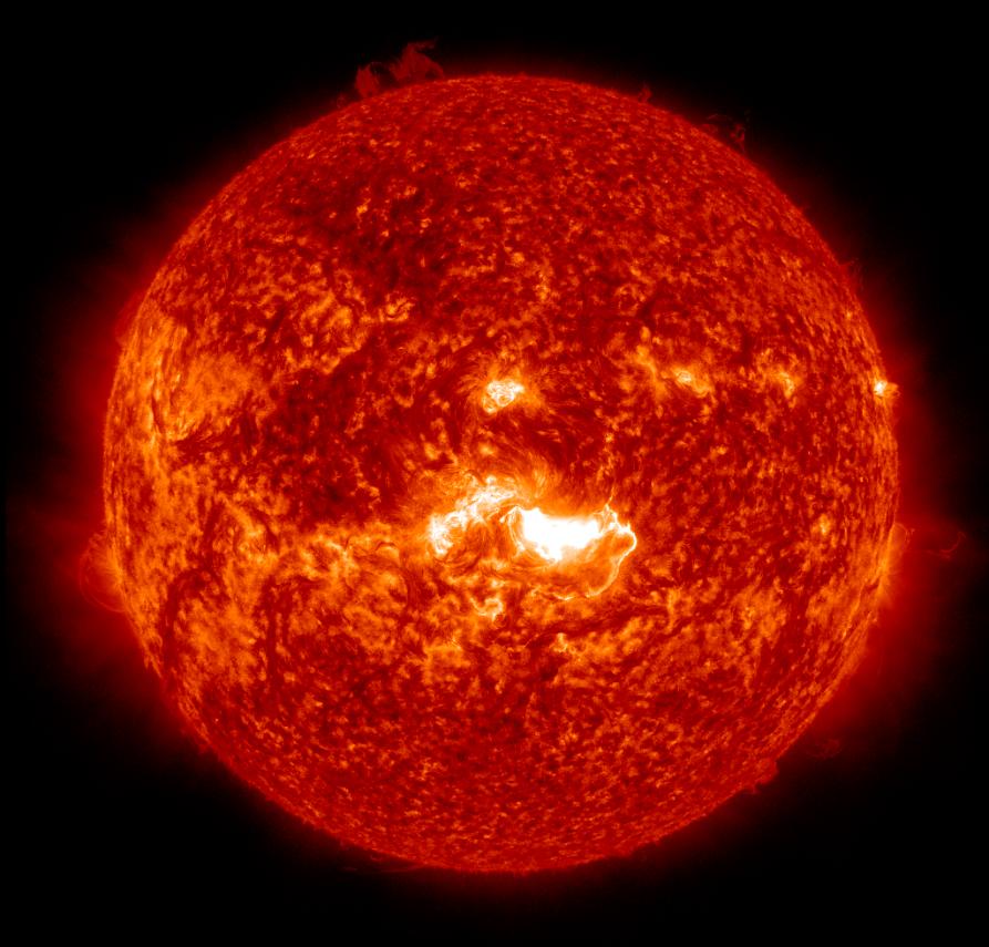 Solar Space Weather 20140107_SDO