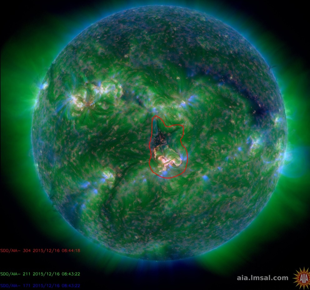 Space Weather Alert 18-12-2015